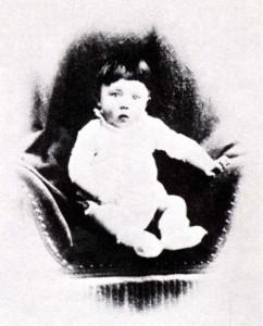 Adolf Hitler as a baby