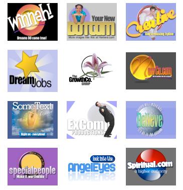 Spiritual Logos from http://web.archive.org/web/20100730211306/http://www.thelogocreator.com:80/spiritual-logos.html