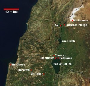 Vridar 187 Galilee Where Angels Fell And Jesus Came And