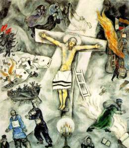 "Vridar » Paul's ""Mystical-Mythical"" Christ the real — or ... Chagall Crucifixion"