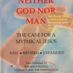 Did Bart Ehrman Not Even Read the Cover of Earl Doherty's Book?