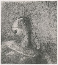 Helen, companion of Simon Magus. Print by Odilon Redon (https://web.archive.org/web/20150912054203/https://www.fitzmuseum.cam.ac.uk/gallery/redon/gallery/6/page.html?p=11)