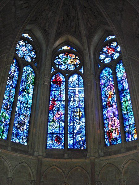 Chagall: Window in Reims Cathedral