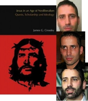Crossley's portrait as a Che Guevara Jesus crucified?