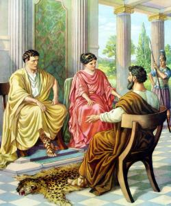 Paul before Felix and Drusilla (http://4.bp.blogspot.com/-owqyZJRa5VU/UTT44cmN9DI/AAAAAAAAGbM/EZ_QxZbH5j4/s1600/paul_before_felix_ezr.jpg)