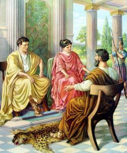 Paul before Felix and Drusilla (http://4.bp.blogspot.com/-owqyZJRa5VU/UTT44cmN9DI/AAAAAAAAGbM/EZ_QxZbH5j4/s1600/paul_before_felix_ezr.jpg)