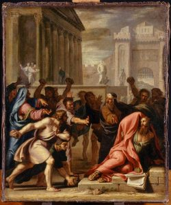 Jean-Baptiste de Champaigne, Saint Paul Stoned in the City of Lystra