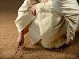jesusWriting