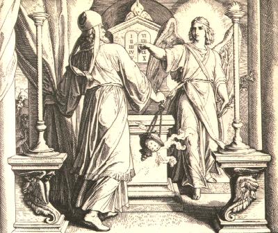 Angel restores Joshua