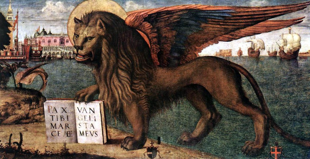 Lion of St Mark by Vittore Carpaccio
