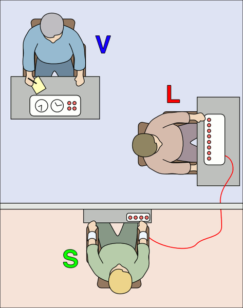 Milgram Experiment (Wikipedia)