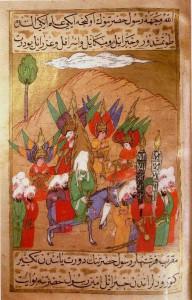 Muhammed advances on Mecca