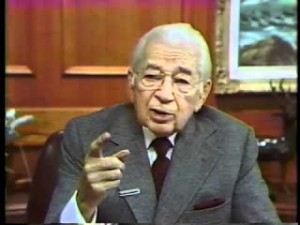 Herbert Armstrong, founder of Worldwide Church of God