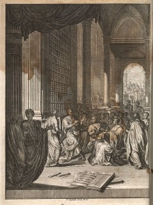 Quintilian,_Institutio_oratoria_ed._Burman_(Leiden_1720),_frontispiece
