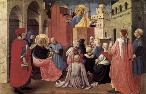 Fra_Angelico_-_St_Peter_Preaching_in_the_Presence_of_St_Mark_-_WGA00464