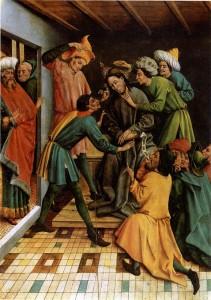Koerbecke_Johann-The_Mocking_of_Christ