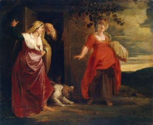 Rubens: Sarah and Hagar