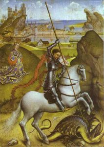 Rogier_van_der_Weyden_-_Saint_George_and_the_Dragon