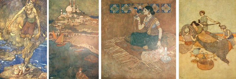 Arabian-Nights-Edmund-Dulac-Illustrated