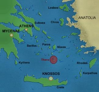 Cyrene Map