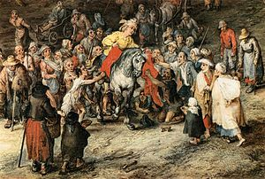 Jan Brueghel (I) - St Martin (detail) - WGA3591