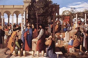 The Wedding at Cana (1820)