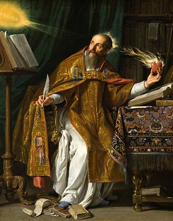 Saint Augustine of Hippo, a seminal thinker on...