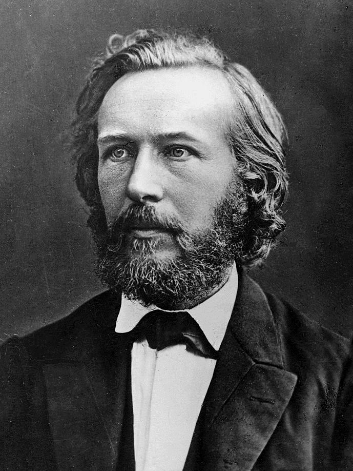 Plattdüütsch: Ernst Haeckel nadem he ut Italie...