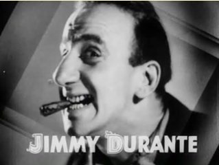 Cropped screenshot of Jimmy Durante from the t...