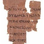 """New"" Date for that St John's Fragment, Rylands Library Papyrus P52"