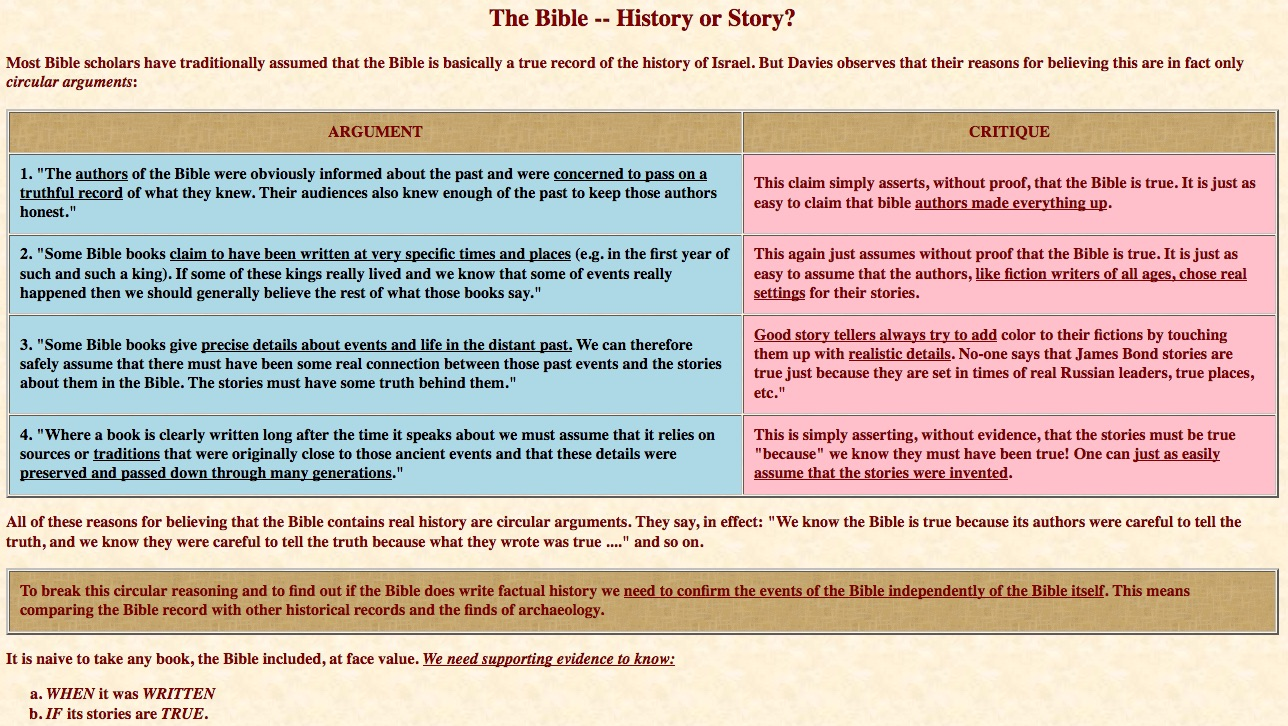 """whose bible is it anyway"""" 