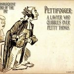 Neil the Pettifogger?